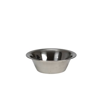 Stainless steel conical bowl 28 cm