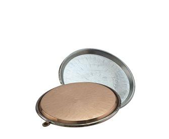 Copper socca dish 32 cm