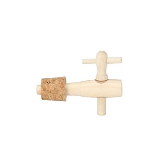 Stoneware vinegar tap with cork