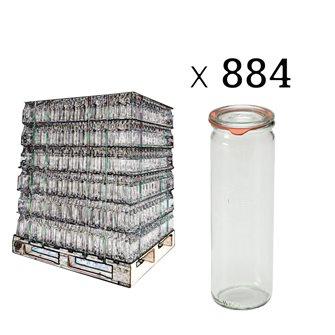 Bocal weck 1/2 liter asparagus per pallet of 884