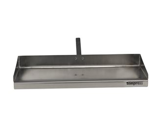 Stainless steel drip pan 65 cm
