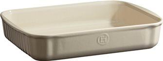Rectangular Emile Henry white rectangular ceramic baking dish