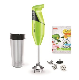 Bamix 180W green mixer for smoothie