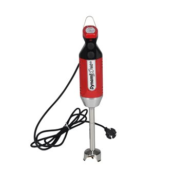 Professional diver blender 220 W dismountable red foot