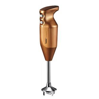 Bamix DeLuxe plunger mixer 160 W Copper with chopping knife