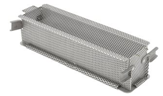 Perforated folding mold in stainless steel 24 cm