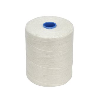 Roll 1 kg of string for charcuterie white rustic linen