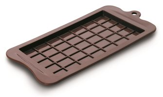 Silicone chocolate bar mold