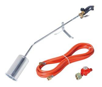 Désherbeur thermique gaz avec tuyau et détendeur 56 kW 4 bars
