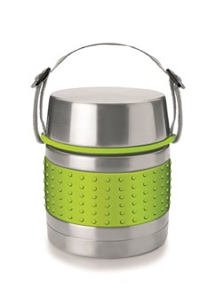 1.2 liter stainless steel double walled insulated container
