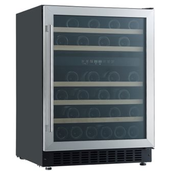 Wine cellar for 46 bottles 2 temperature zones 5-22°C 70 W