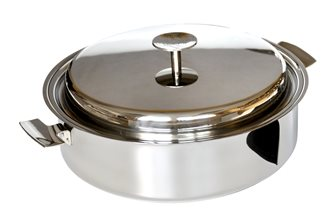 Saucepan Baumstal induction stainless steel 24 cm with lid