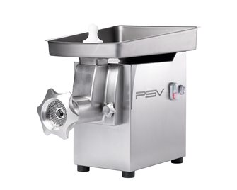 H82 professional stainless steel electric meat grinder double cut 350 kg / h reverse 1,100 W three-phase