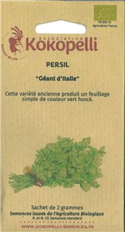 Giant parsley seeds from Italy