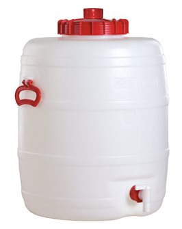 Cylindrical food grade keg - 80 litres