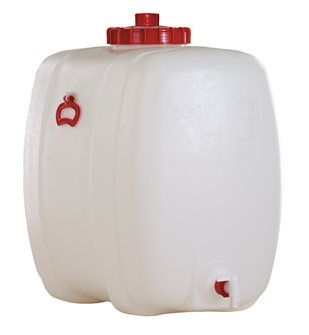 Rectangular food vat - 200 litres