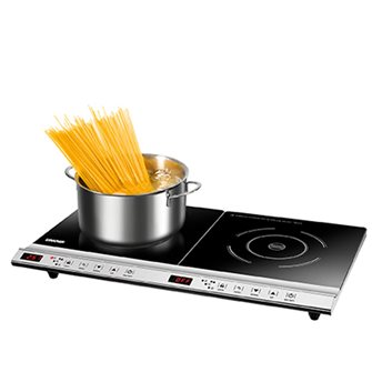 Double induction hob 3,100 W