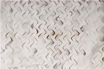 Filet de camouflage ou d´ombrage blanc 5 x 5 m