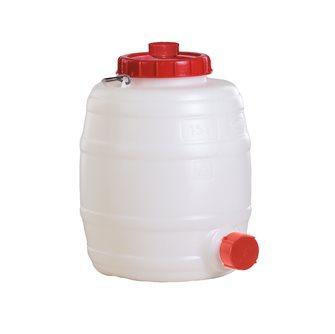 Cylindrical food grade keg - 15 litres